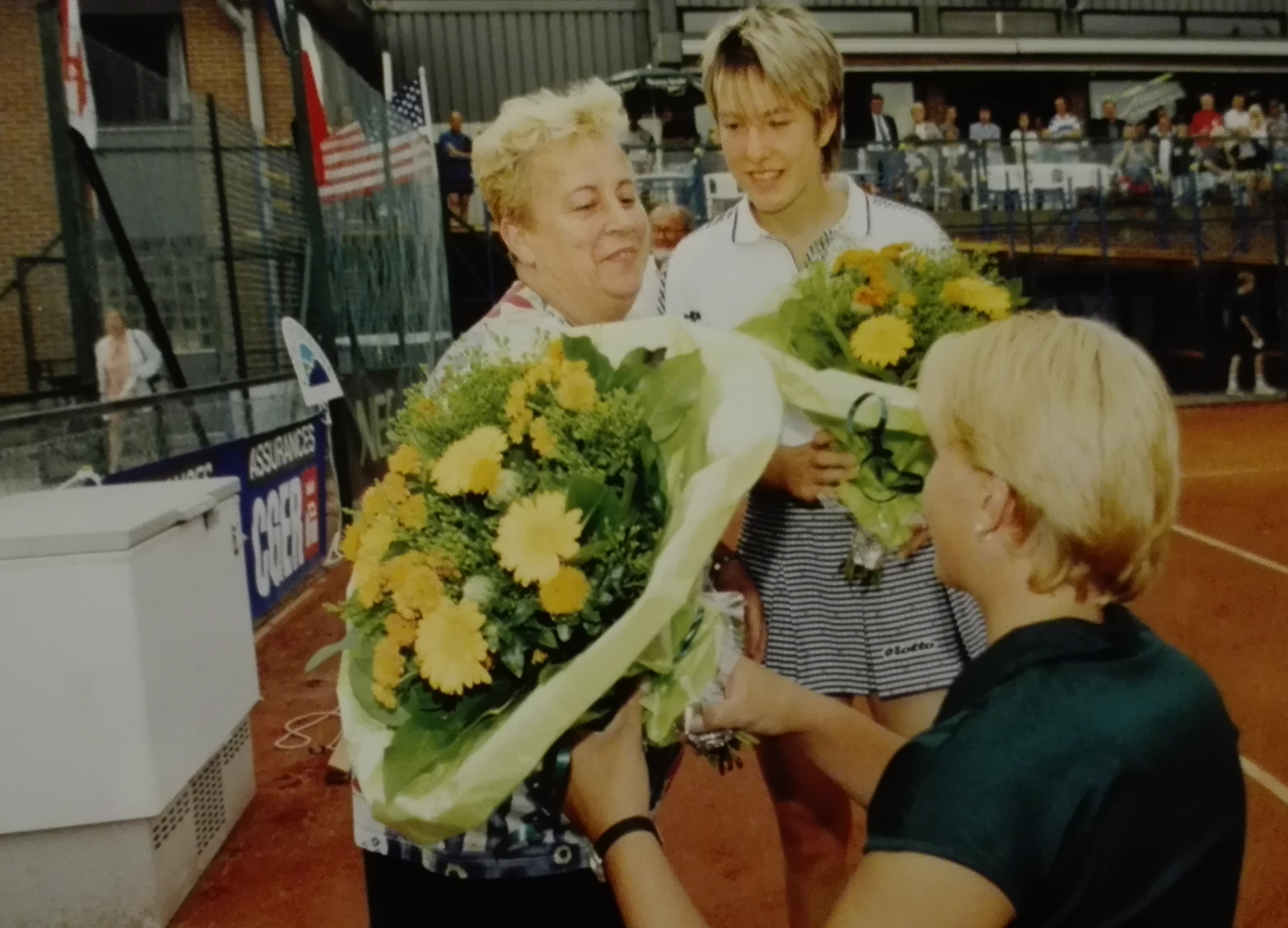 Exhibition 1997 - Justine Henin et Esther Vergeer